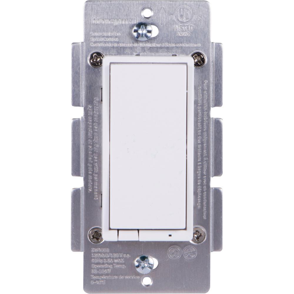 Honeywell Z-Wave Plus In-Wall Smart Fan Control Switch