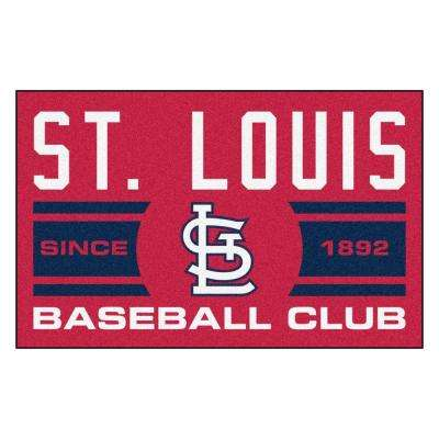 MLB St. Louis Cardinals Blue 1 Ft. 7 In. X 2 Ft.