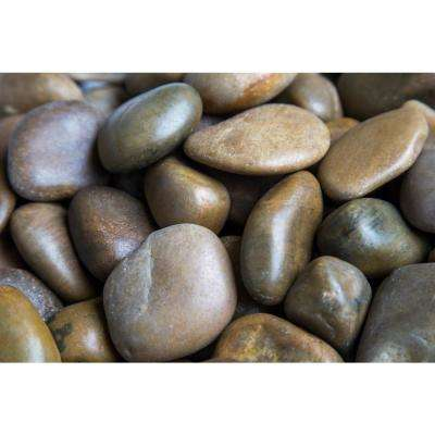 0.25 cu. ft. 1 in. to 2 in. Mixed Polished Pebbles