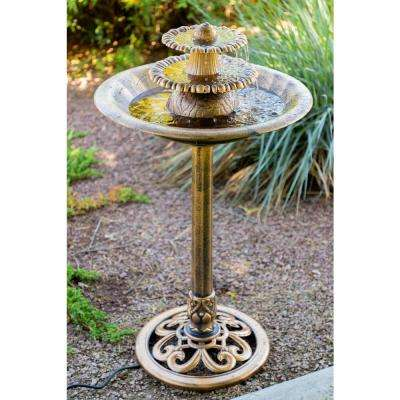 3-Tier Bronze Fountain