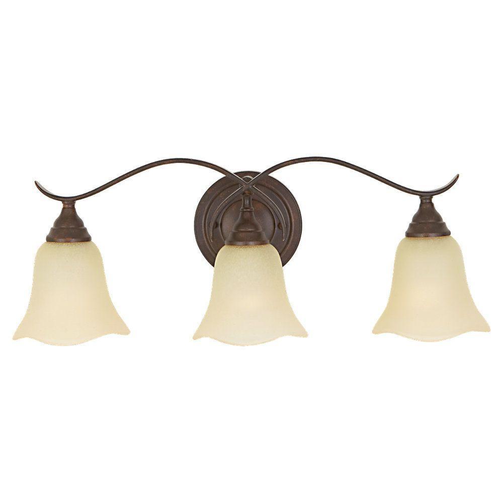 Morningside 3-Light Grecian Bronze Vanity Light