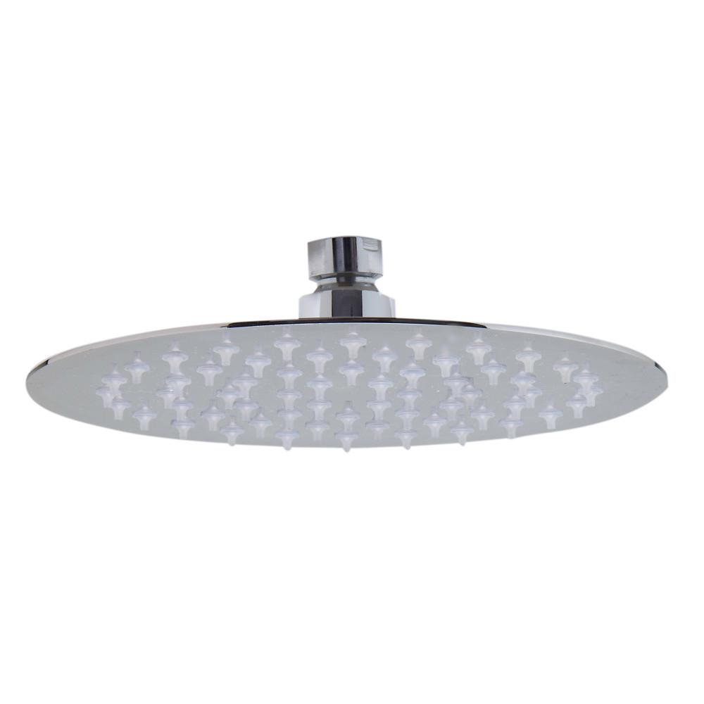 ALFI BRAND 1-Spray 8 in. Fixed Showerhead with Ultra Thin Design in Polished Stainless Steel