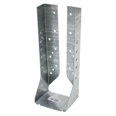 HUC Galvanized Face-Mount Concealed-Flange Joist Hanger for Double 2x10 Nominal Lumber