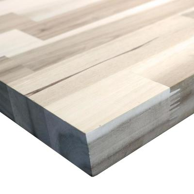 Unfinished Acacia 6 ft. L x 25 in. D x 1.5 in. T Butcher Block Countertop