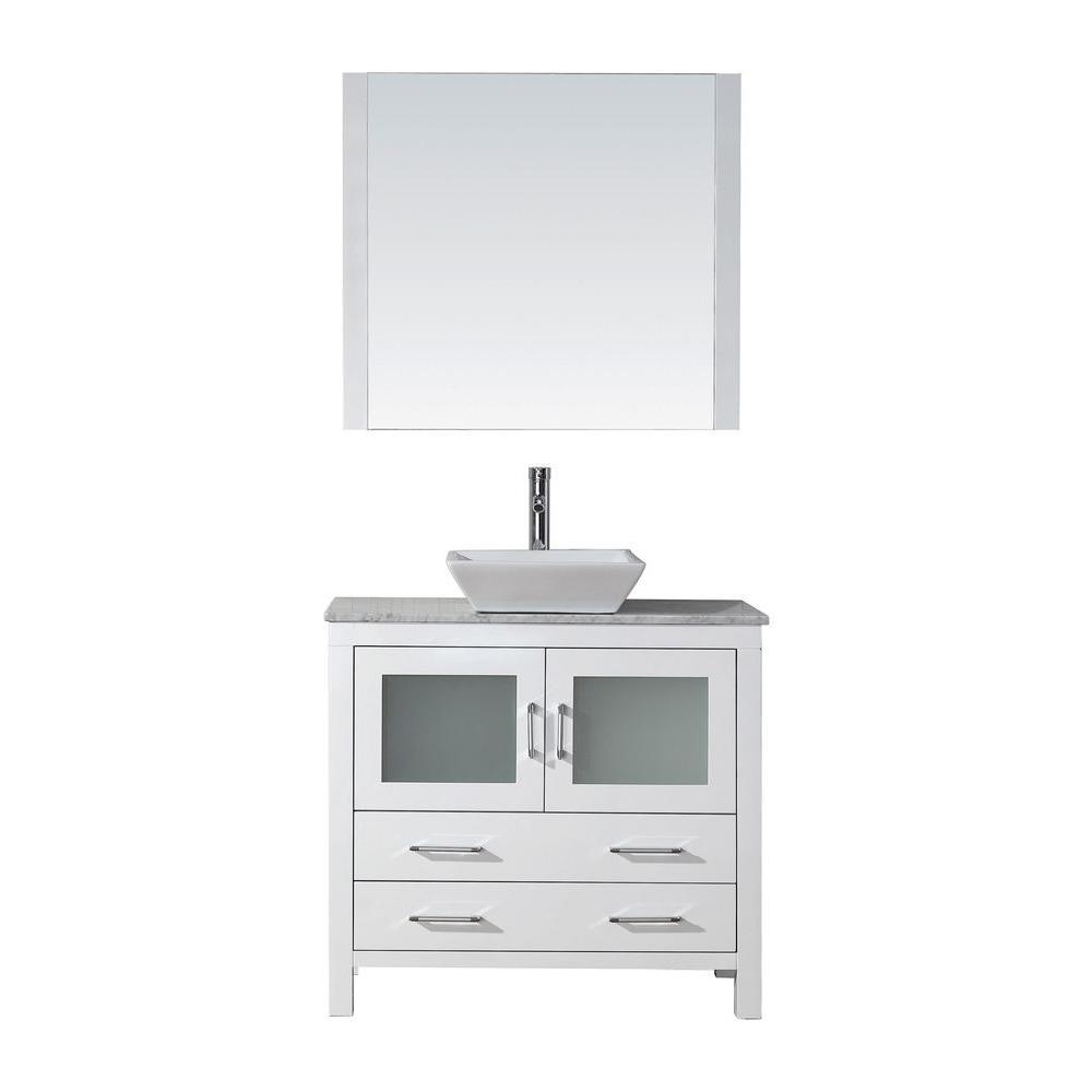 Dior 32 in. W x 18.3 in. D Vanity in White