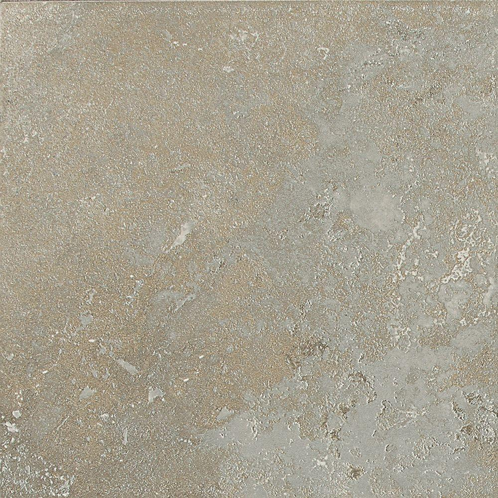 Daltile Sandalo Castillian Gray 18 in. x 18 in. Glazed Ceramic Floor and Wall Tile (18 sq. ft. / case)-DISCONTINUED