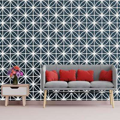 3/8 in. x 15-3/4 in. x 15-3/4 in. Medium Swansea White Architectural Grade PVC Decorative Wall Panels