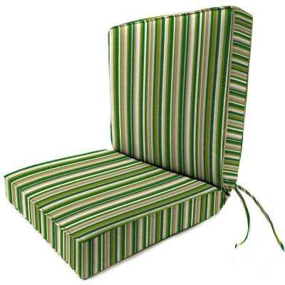 Sunbrella Catalina Cilantro Outdoor Dining Chair Cushion