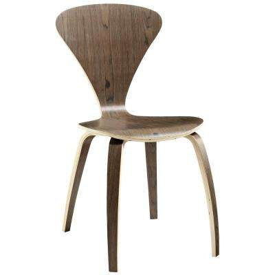Vortex Dark Walnut Dining Side Chair