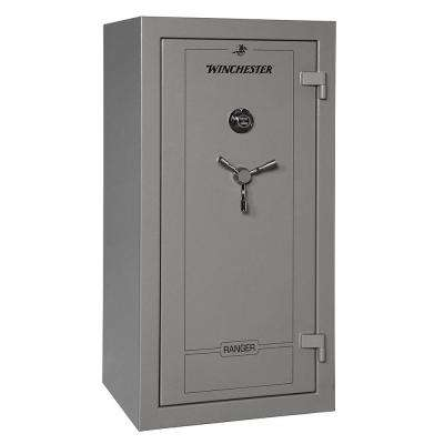 Ranger 26 cu. ft. 28-Gun 60 Minute Fire Resistant U.L. Mechanical Lock Gun Safe Gunmetal