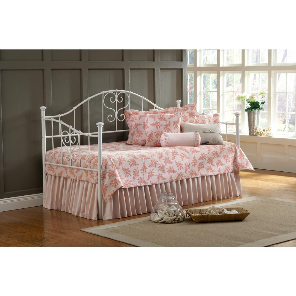 Hillsdale Furniture Lucy Textured White Day Bed 1517dblh