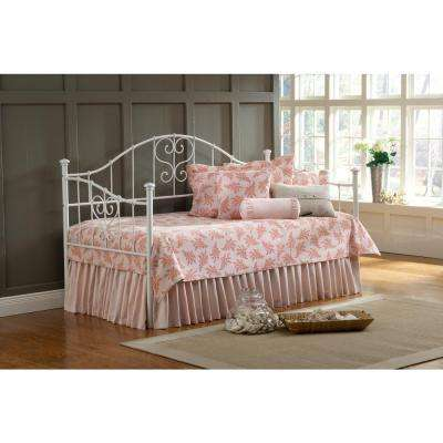 Lucy Textured White Day Bed
