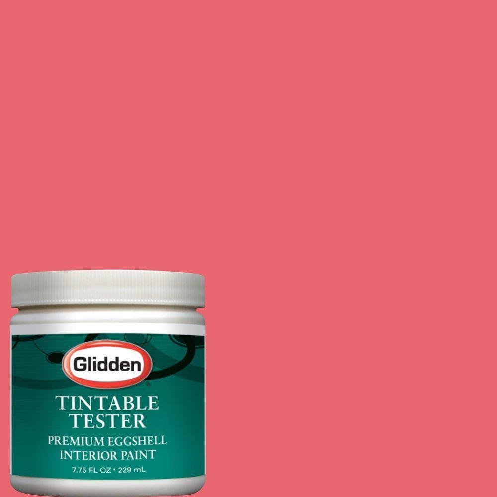 Glidden Premium 8-oz. Pink Salmon Interior Paint Tester