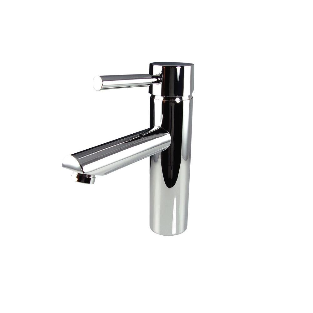 Fresca Tartaro Single Hole 1-Handle Low-Arc Bathroom Faucet in ...