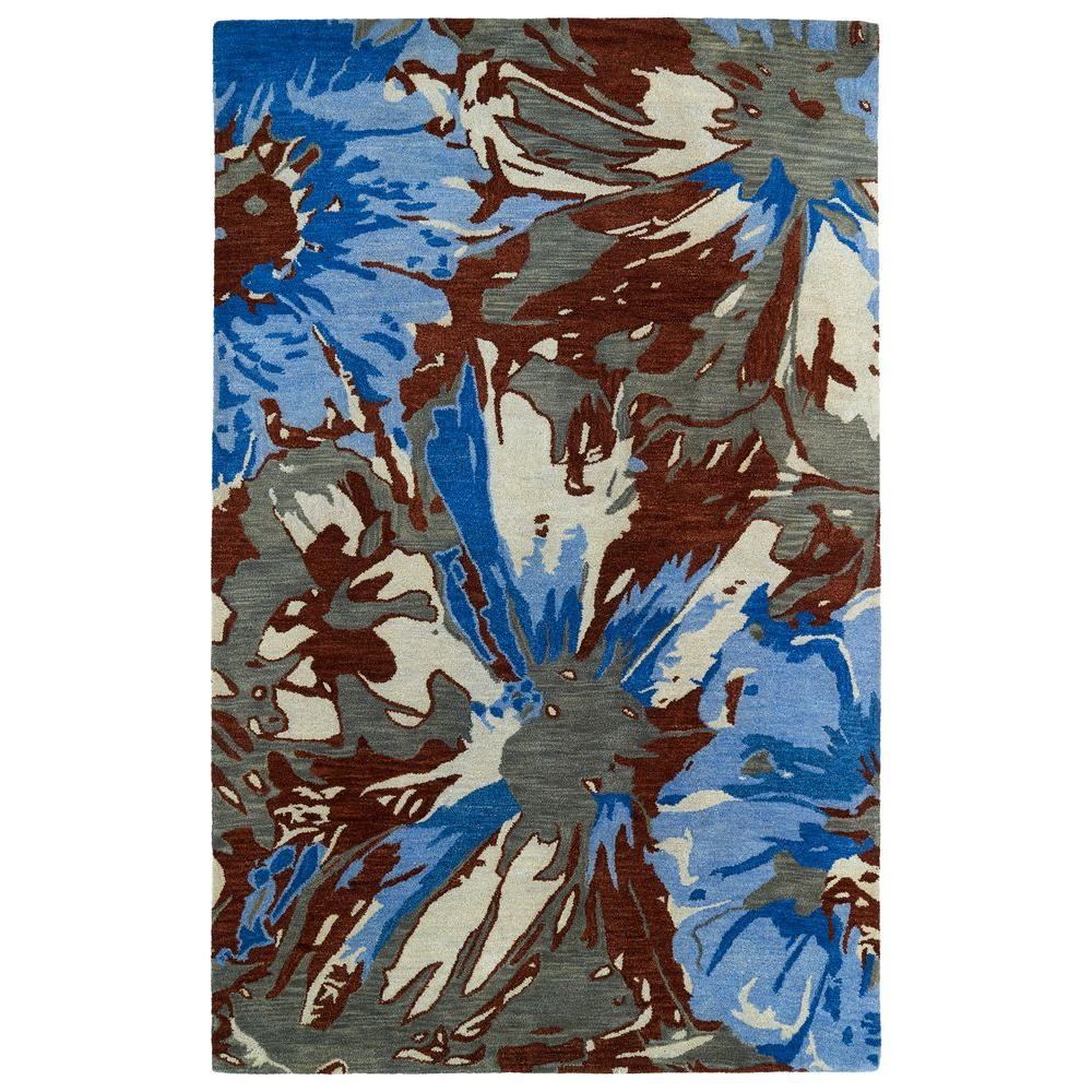 Brushstrokes Multi 3 ft. 6 in. x 5 ft. 6 in.