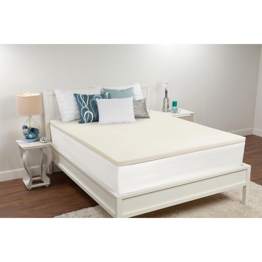 Sealy 15 In Full Memory Foam Mattress Topper F02 00039 Fl0 The