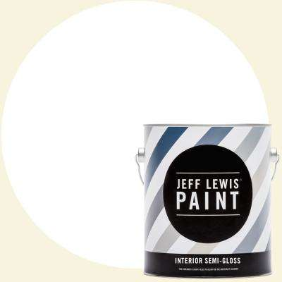 1 gal. #610 White Collar Semi-Gloss Interior Paint