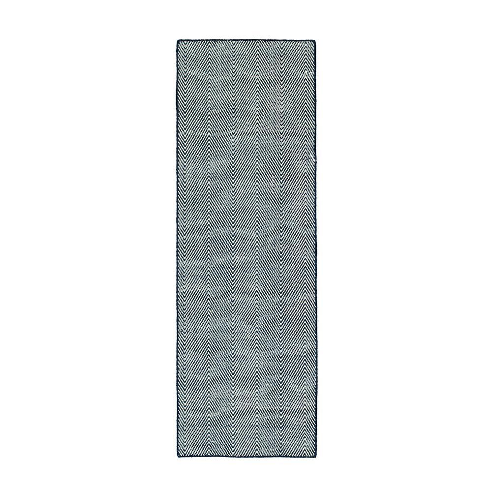 10be45e5ba7 Classic - Chevron - Blue - Outdoor Rugs - Rugs - The Home Depot
