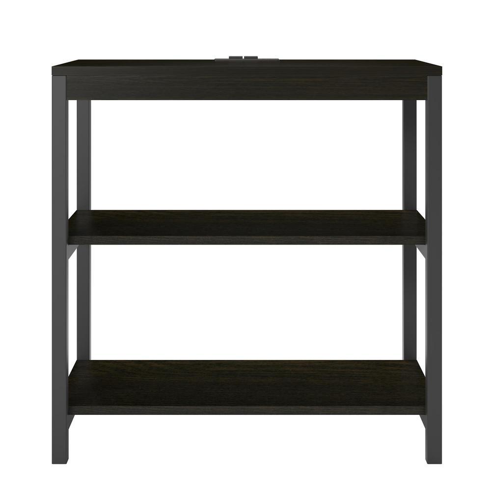Ameriwood Cumbria Rustic Medium Oak 3 Shelf Bookcase Hd41131 The