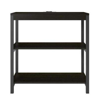 Cumbria Rustic Medium Oak 3-Shelf Bookcase