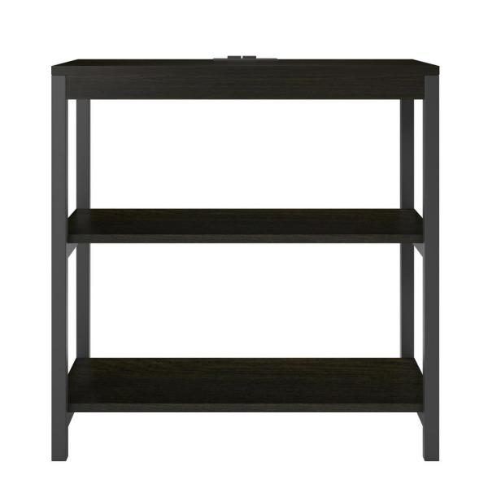 Ameriwood Cumbria Rustic Medium Oak 3-Shelf Bookcase HD41131