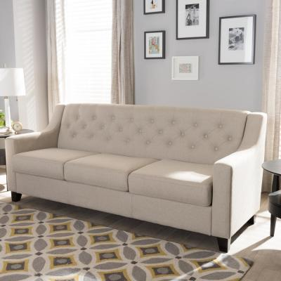 Phenomenal Beige Sofas Loveseats Living Room Furniture The Home Pabps2019 Chair Design Images Pabps2019Com