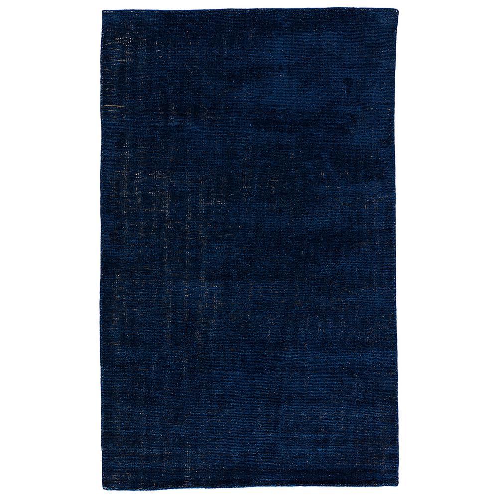 Jaipur Living Solids/ Handloom Dress Blues 2 ft  x 3 ft  Solids Area Rug