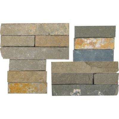 Salvador Vanilla Corner 6 in. x 6 in. Natural Limestone Wall Tile (6 sq. ft. / case)