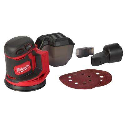 M18 18-Volt Lithium-Ion Cordless 5 in. Random Orbit Sander (Tool-Only)
