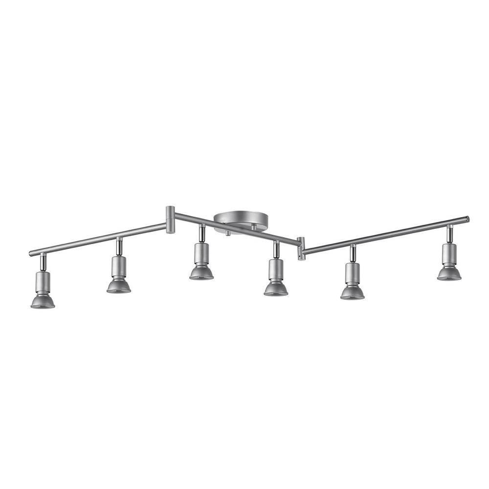 Silver - Track Lighting - Lighting - The Home Depot
