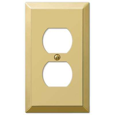 Outlet Plates Metal  Brass  Outlet Wall Plates  Wall Plates  The Home Depot