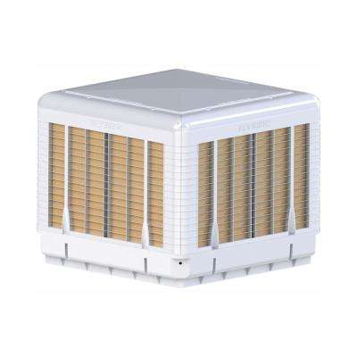 5000 CFM 2-Speed Down/Side Discharge Roof Top Evaporative Cooler For 2000 Sq. ft. (with Motor)
