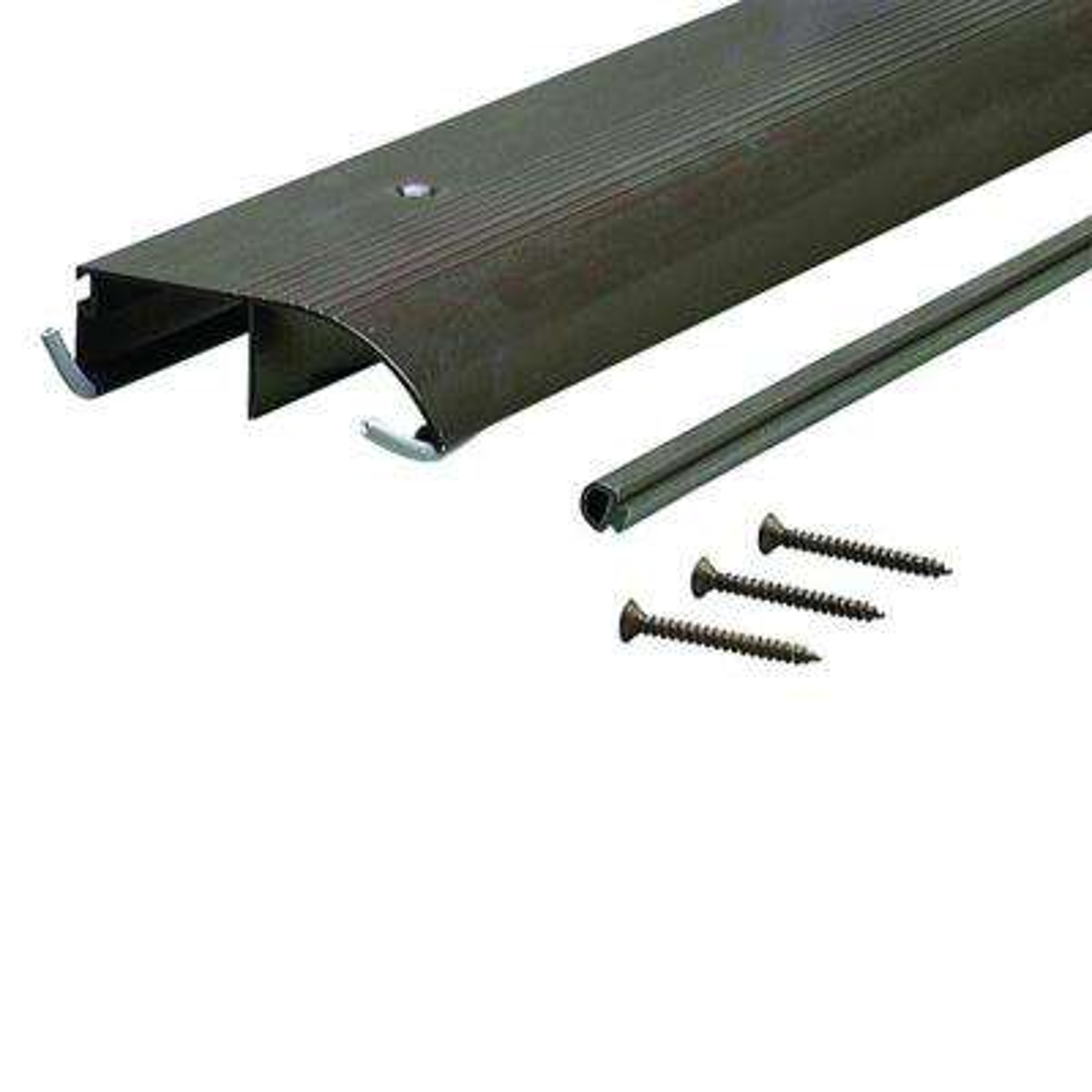3-1/2 in. x 71-1/2 in. Bronze Aluminum Bumper Threshold