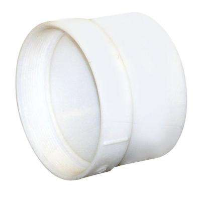 6 in. PVC Hub x FPT Female Adapter
