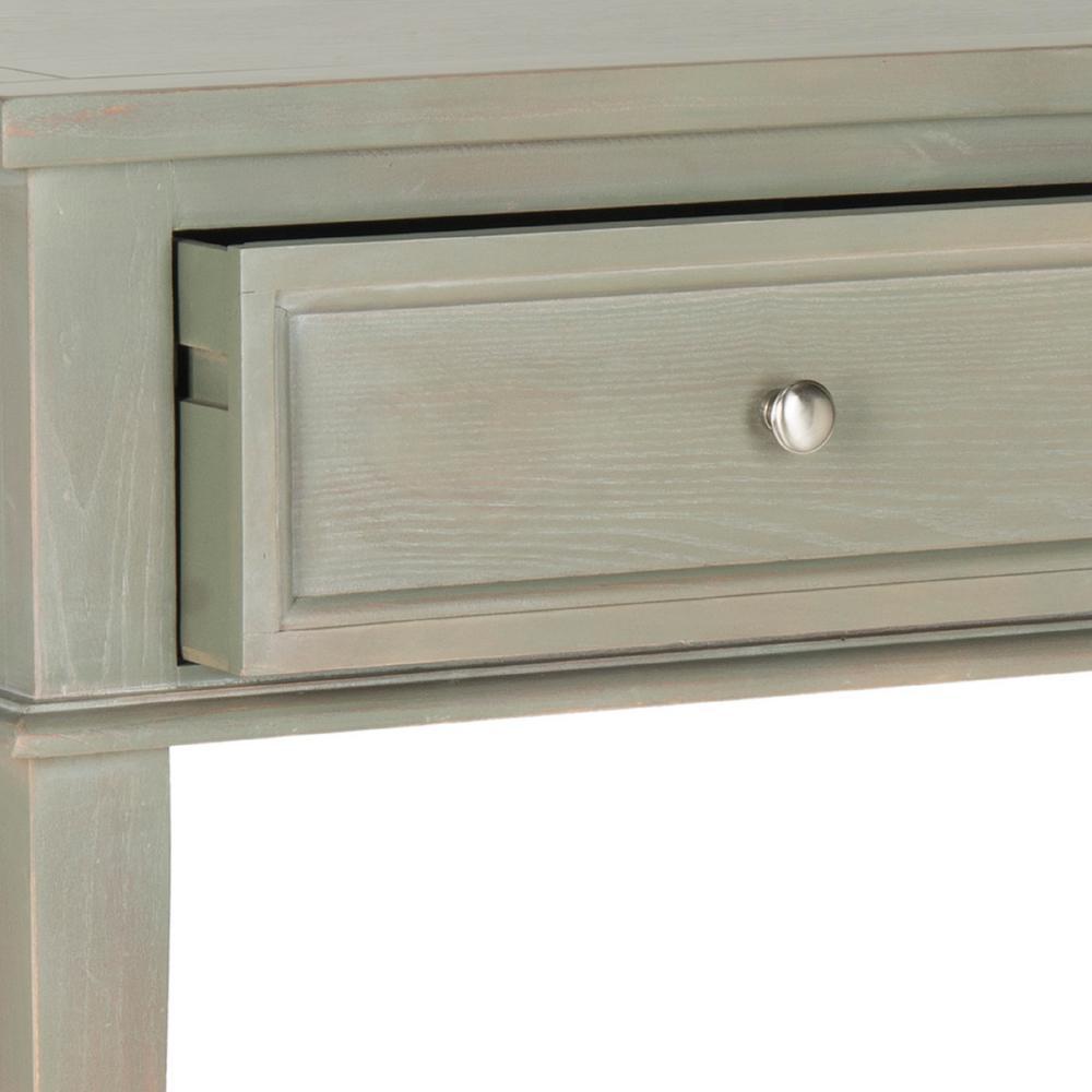 Safavieh Manelin Ash Gray Storage Console Table AMH6641C ...