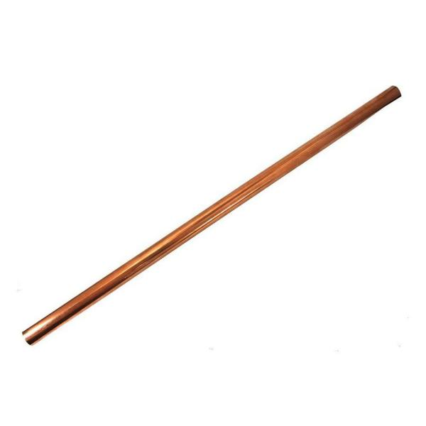 1 in. x 2 ft. Copper Type L Hard Straight Pipe