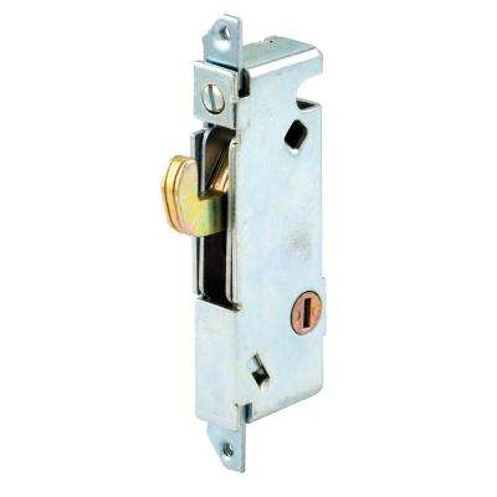 Sliding Door Mortise Lock, Square Face, Steel
