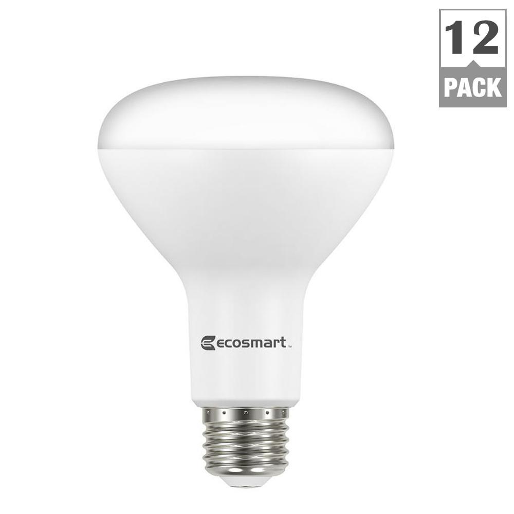Ecosmart 65 Watt Equivalent Br30 Dimmable Led Light Bulb