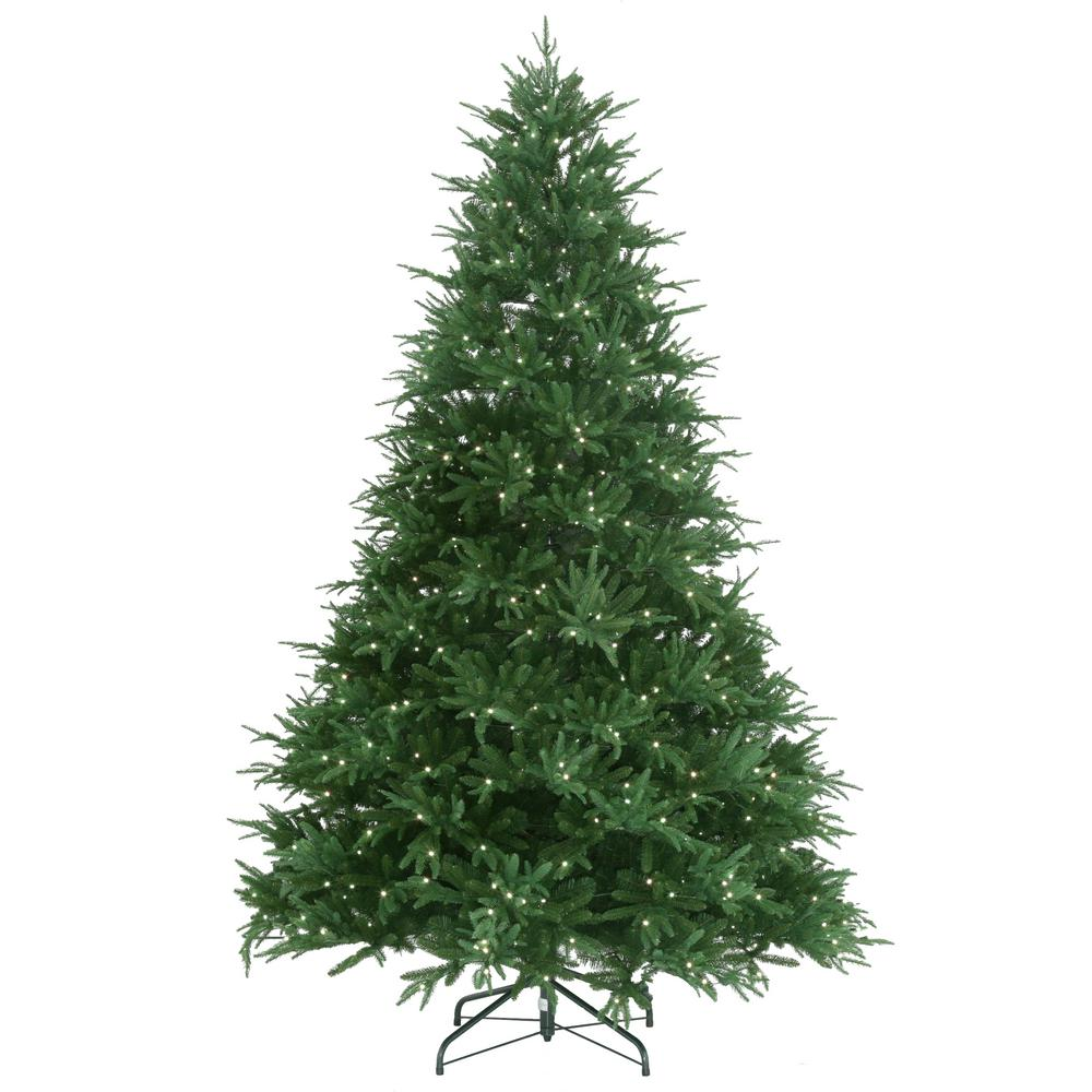 9ft Christmas Tree.9 Ft Splendor Spruce Ez Power Artificial Christmas Tree With 780 42 Function Led Lights And Remote Control