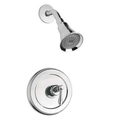 Montbeliard Single-Handle 1-Spray Shower Faucet in Chrome (Valve Included)