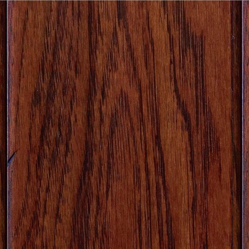 Home Legend Hand Scraped Hickory Tuscany 1/2 in. T x 4-3/4 in. W x Varying Length Engineered Hardwood Flooring (24.94 sq.ft./case)