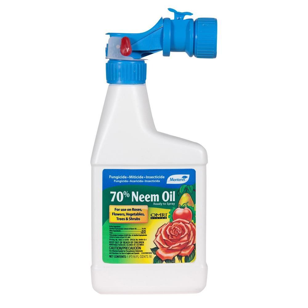 Monterey 16 Oz Neem Oil Lg6145 The Home Depot