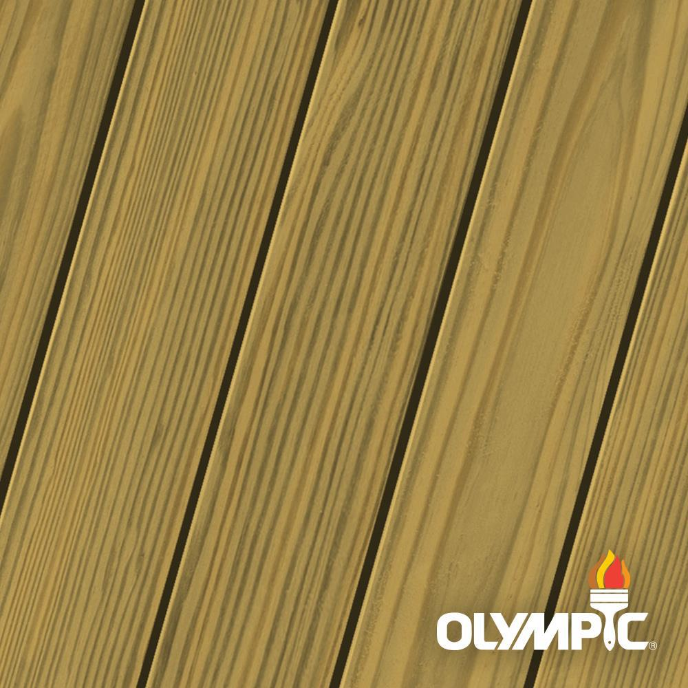 Olympic Elite 8 oz. Fall Foliage Semi-Solid Exterior Wood Stain and Sealant in One Low VOC