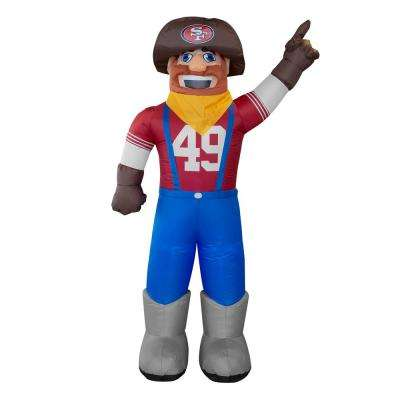 7 ft. San Francisco 49ers Inflatable Mascot