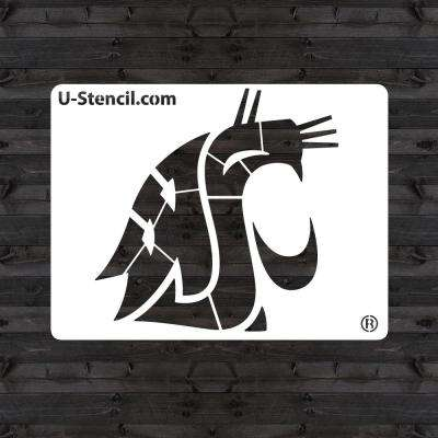 "Washington State ""COUGAR"" Mini Stencil"