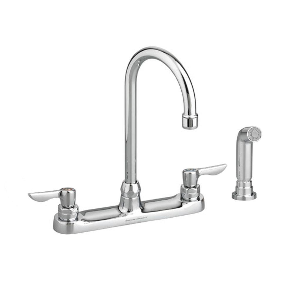American Standard Monterrey 2 Handle Standard Kitchen Faucet With