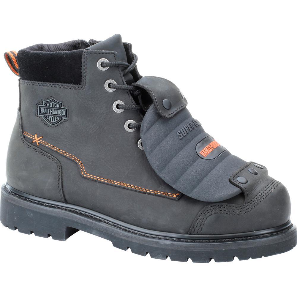 Jake Men's 13.0 W Black Steel Toe Boot