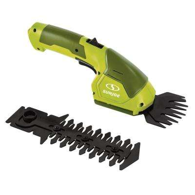 Hedger Joe 7.2-Volt Cordless 2-In-1 Grass Shear + Hedge Trimmer