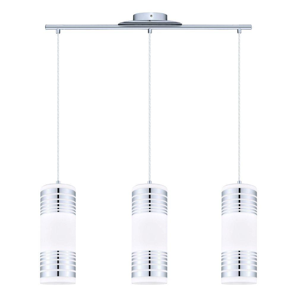 Bayman 3-Light Chrome Hanging Light