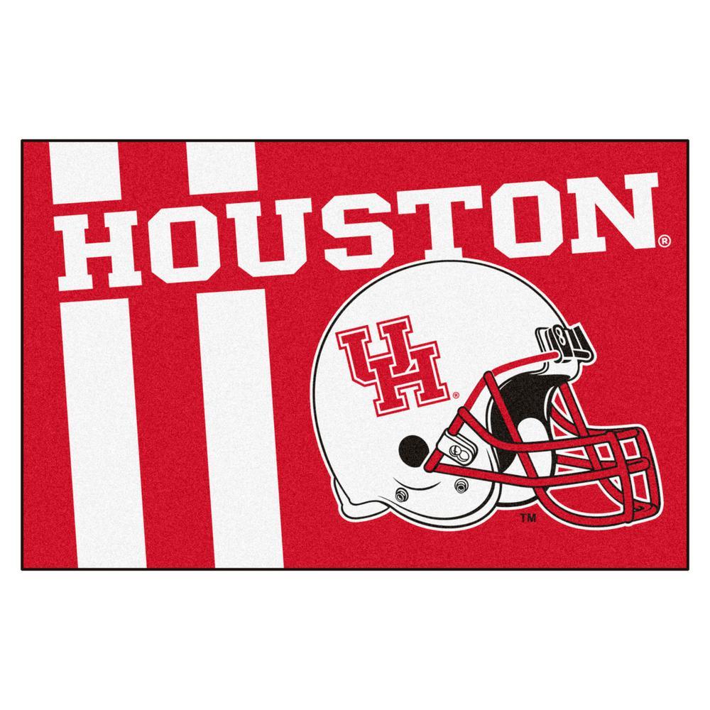 NCAA University of Houston 19 in. x 30 in. Uniform Style Starter Door Mat